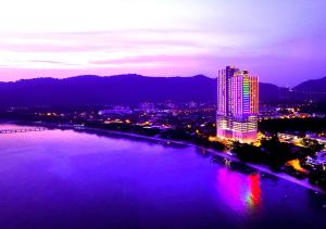 A bird's-eye view of Lexis Suites Penang
