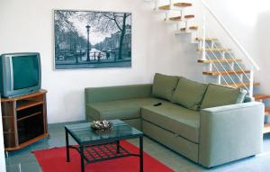 A seating area at Holiday home Holubice