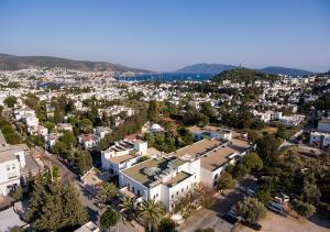 A bird's-eye view of Hotel Karia Princess