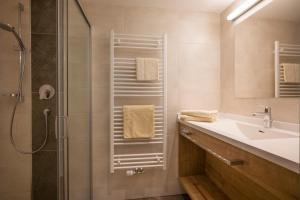 A bathroom at Hottererhof