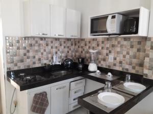 A kitchen or kitchenette at Apartamando Maires