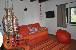 Zona d'estar a Horta Da Vila
