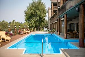 The swimming pool at or near The Pine Lodge on Whitefish River, Ascend Hotel Collection