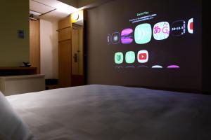 Cama o camas de una habitación en Shibuya Tokyu REI Hotel