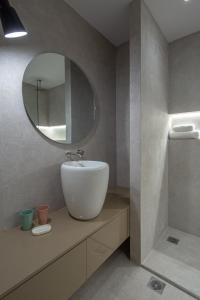 A bathroom at Hippocrates - Faliro deluxe apartment