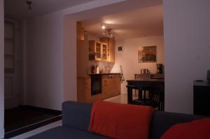 Küche/Küchenzeile in der Unterkunft Haus Lüllmann