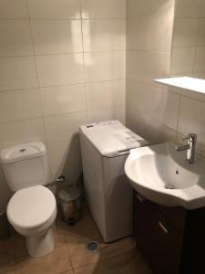 Koupelna v ubytování 15 minutes from city center !