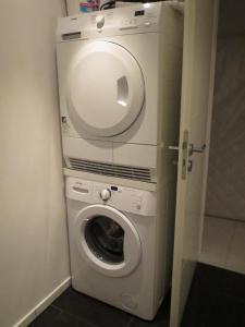 Ein Badezimmer in der Unterkunft Haus Lüllmann