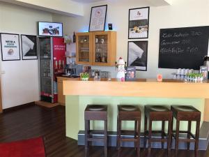 The lounge or bar area at Good Morning Erfurt