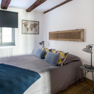Un ou plusieurs lits dans un hébergement de l'établissement La Maison du Batelier
