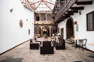 Un restaurante o sitio para comer en Cusco Plaza Saphi