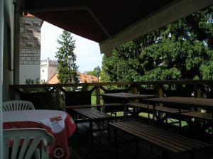 Restaurace v ubytování Hotel Parkán