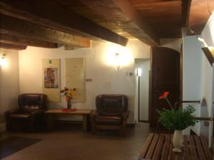 Posezení v ubytování Hotel Parkán