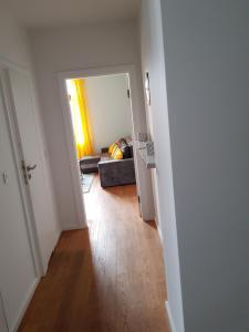 Łóżko lub łóżka w pokoju w obiekcie Apartament