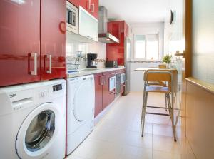Una cocina o zona de cocina en Apartamento Don Pedro