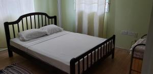 A bed or beds in a room at Unit 2 Private Apartment - Roseau
