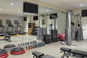 The fitness center and/or fitness facilities at Doubletree By Hilton New York Times Square West