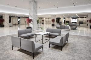 The lobby or reception area at Clarion Congress Hotel Prague