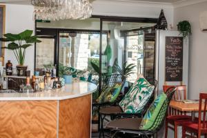 The lobby or reception area at Kobbers Motor Inn