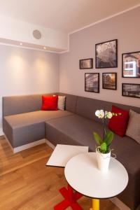 A seating area at Radisson Blu Hotel Erfurt