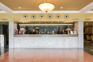 De lobby of receptie bij Best Western Vilnius