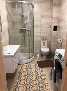 Ванная комната в Коттедж на горнолыжной 37а