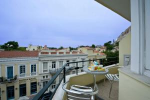 A balcony or terrace at Phaedra Hotel