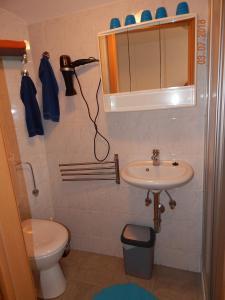 Ein Badezimmer in der Unterkunft Geary Ferienwohnung