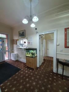 The lobby or reception area at The Handforth Lodge