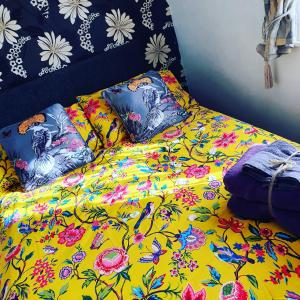 A bed or beds in a room at Golden Sands Hotel - St Chad's Road