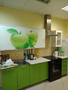 Кухня или мини-кухня в Меридиан на Фортунатовской