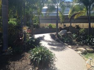 A garden outside Hillcrest Guest House
