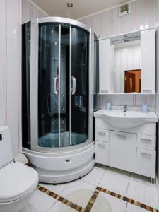 Ванная комната в Отель 21 Век