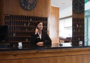 Hall o reception di Hotel Apogia Sirio Mestre