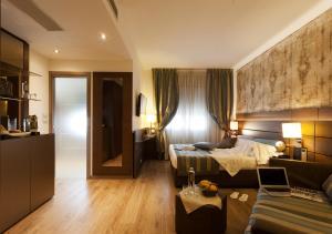 Area soggiorno di Hotel Apogia Sirio Mestre