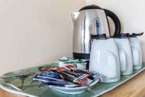 Coffee and tea-making facilities at Roedean Guest House