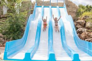 Water park at the campground or nearby