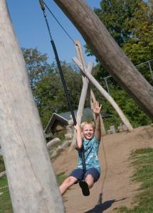 Kinderen die verblijven bij Camping het Wieskamp