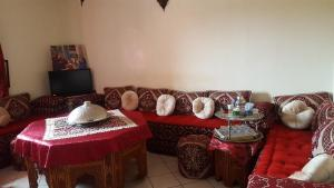 A seating area at Marrakech