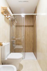 Un baño de Suites Lumbreras