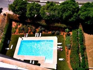 A view of the pool at apartamento Jeni or nearby