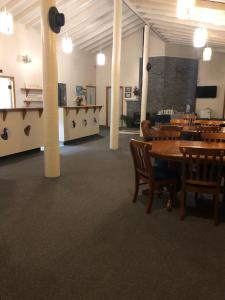 A restaurant or other place to eat at Mount Adam Lodge