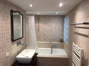 Salle de bains dans l'établissement House 810