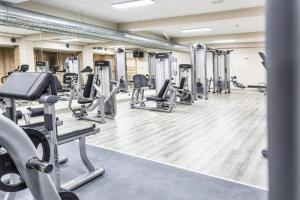 The fitness center and/or fitness facilities at Hotel Spa Rio Ucero