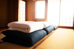 鎌倉賓館房間的床