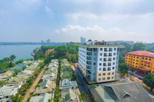A bird's-eye view of Coco Flower Village Serviced Apartment