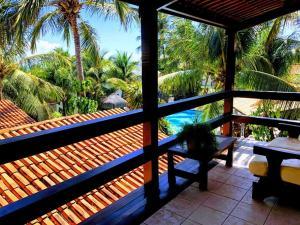 Een balkon of terras bij Hotel e Pousada La Dolce Vita