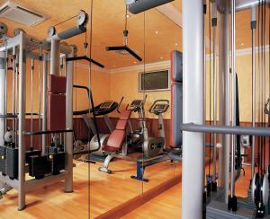 The fitness center and/or fitness facilities at Fredrick's Hotel Restaurant Spa