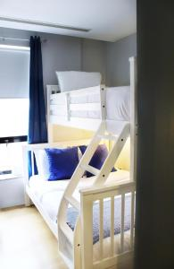 A bunk bed or bunk beds in a room at The Ridge