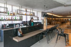The lounge or bar area at RMD906 Maravilhoso flat na praia de Boa Viagem